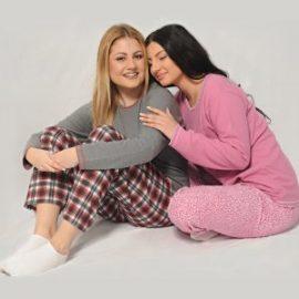 Πυτζάμες γυναικείες χειμερινές